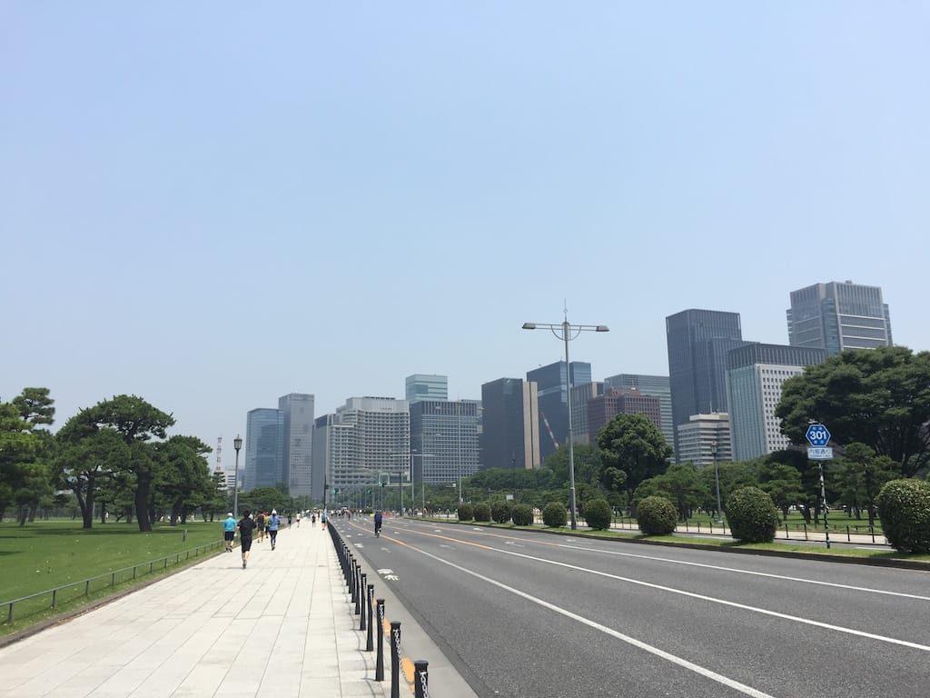 桜田門前広場から竹橋まで02