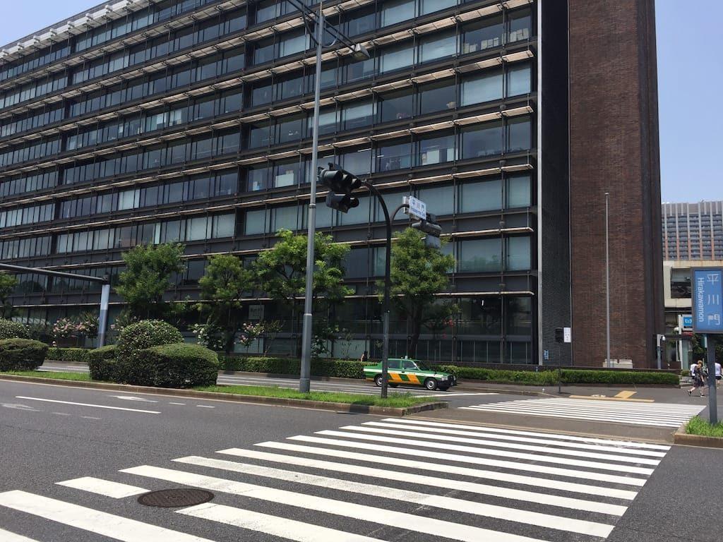 桜田門前広場から竹橋まで09