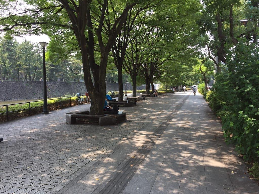 桜田門前広場から竹橋まで10