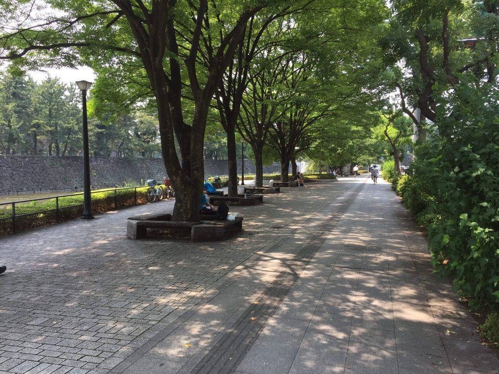 竹橋駅付近の休憩スポット