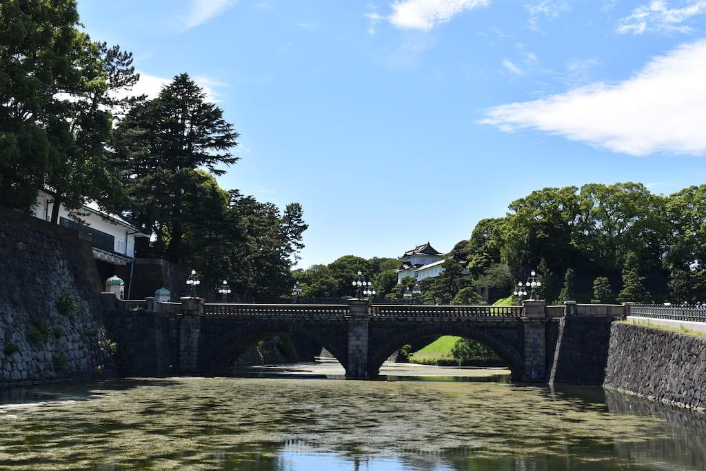 皇居外苑の二重橋