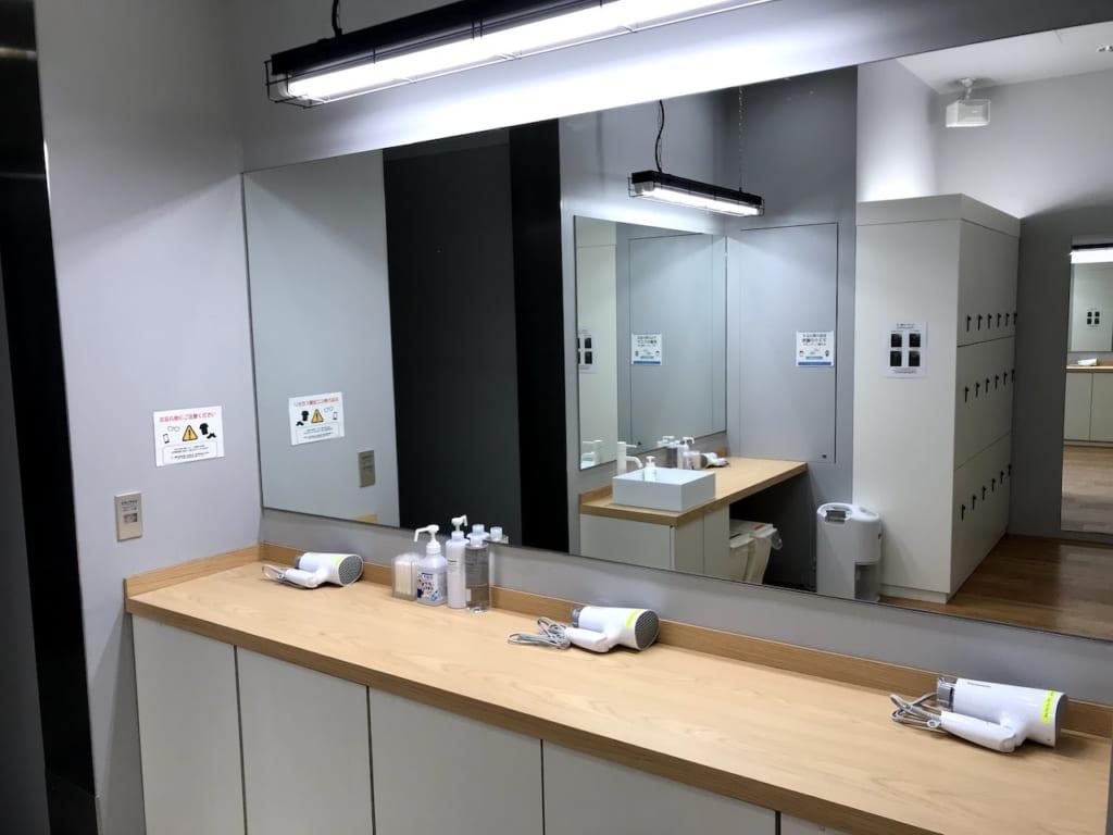 リラクプロ永田町店のパウダールーム02